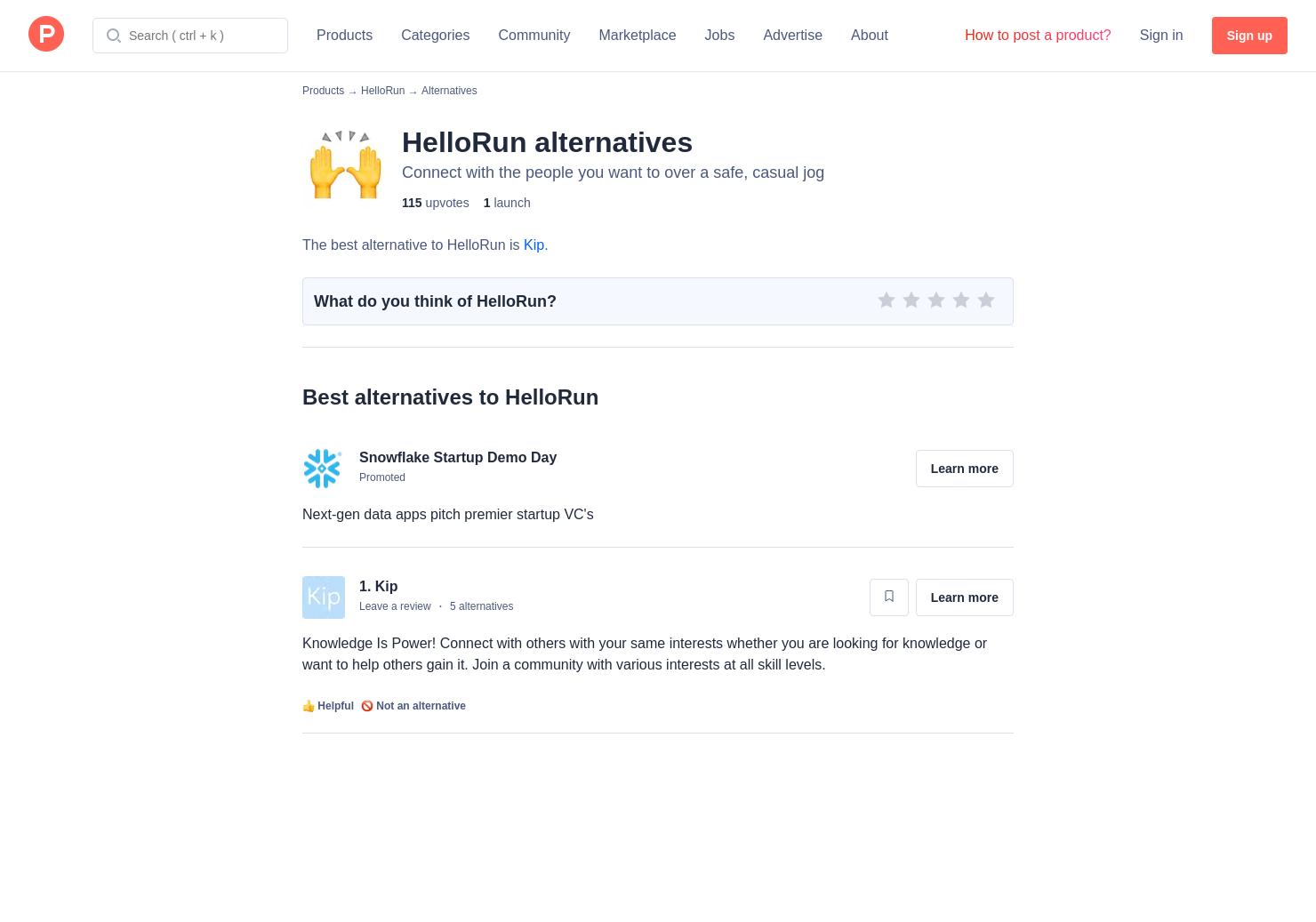 6 Alternatives to HelloRun | Product Hunt