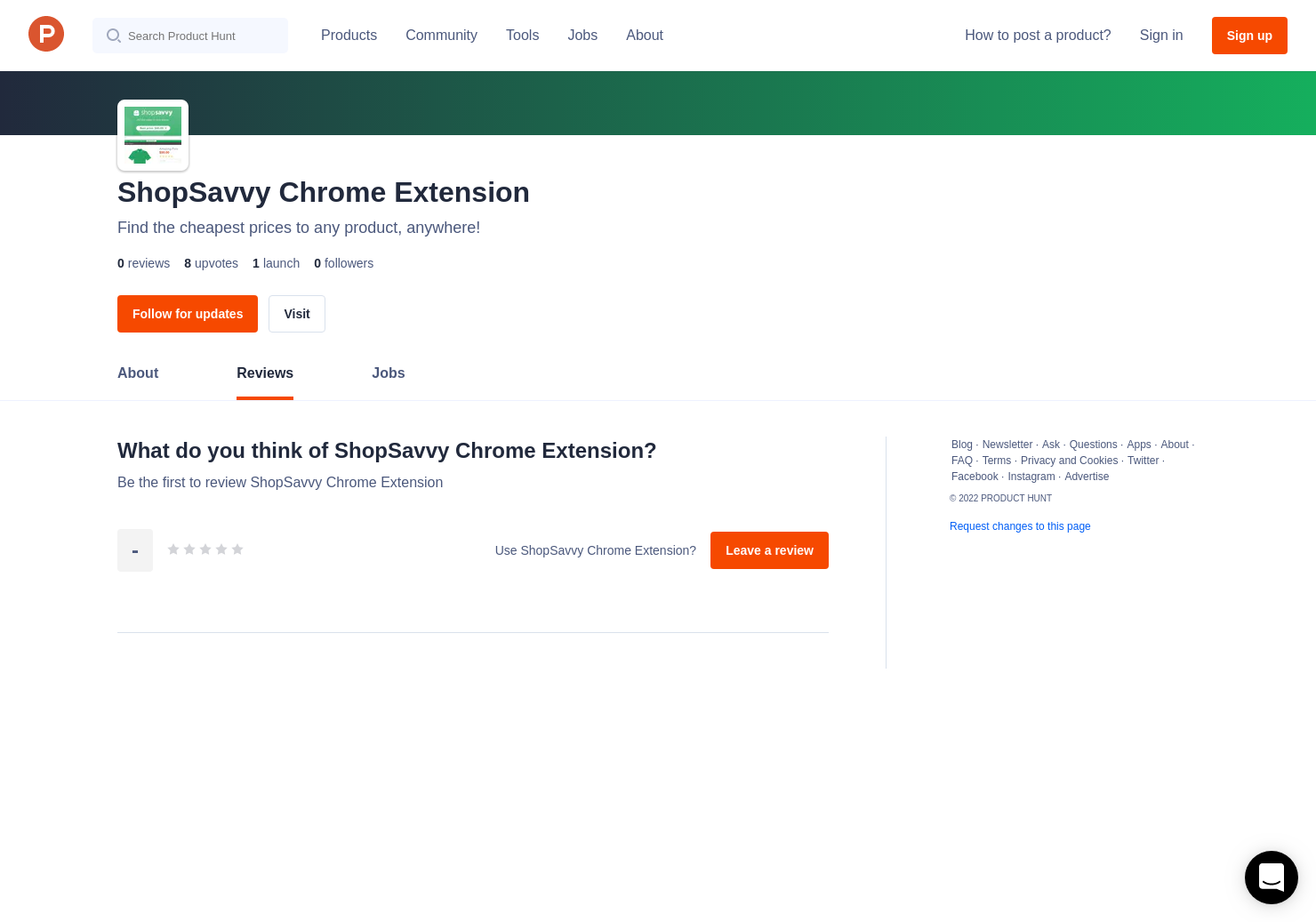 ShopSavvy Chrome Extension Reviews - Pros, Cons and Rating