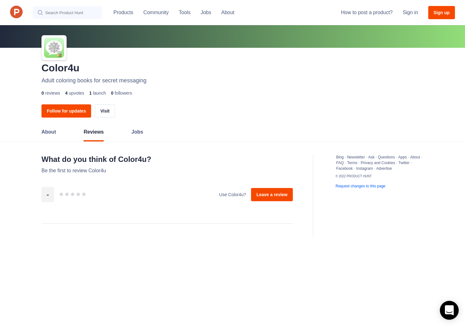 Color4u Reviews - Pros, Cons and Rating | Product Hunt