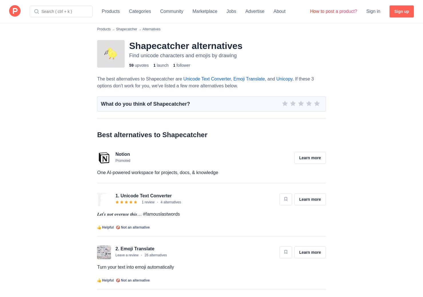 6 Alternatives to Shapecatcher   Product Hunt