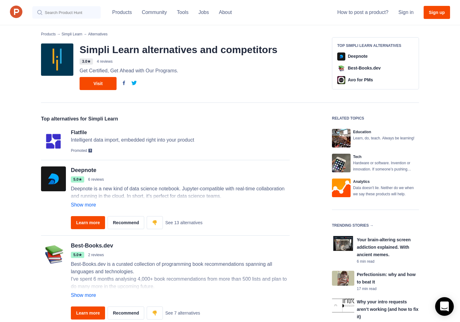1 Alternatives To Guide To The Microsoft Certifications Product Hunt