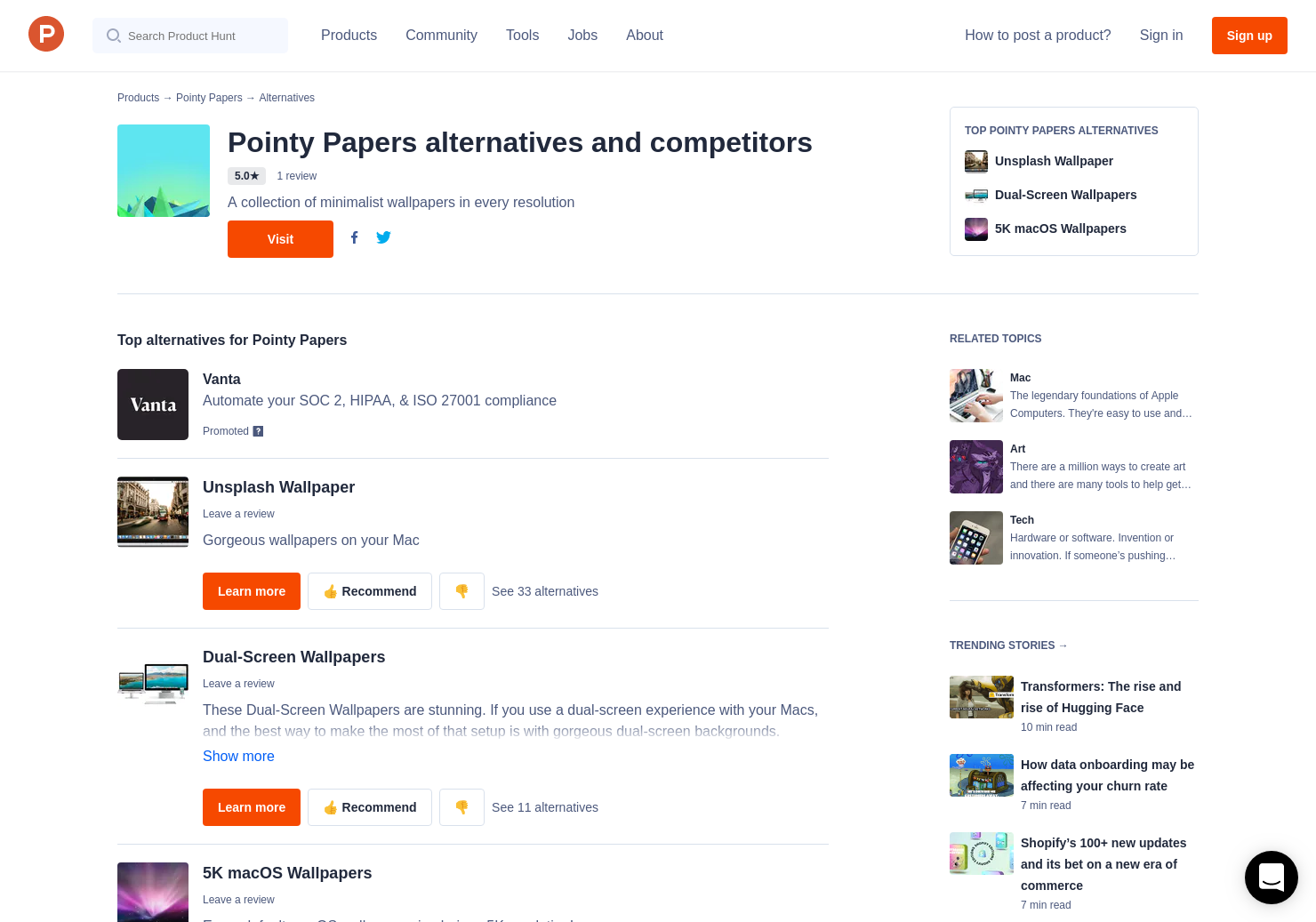 3 Alternatives to Pointy Papers for Mac | Product Hunt