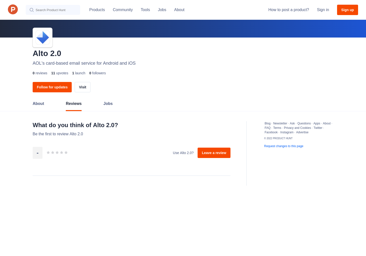 Alto 2 0 Reviews - Pros, Cons and Rating | Product Hunt