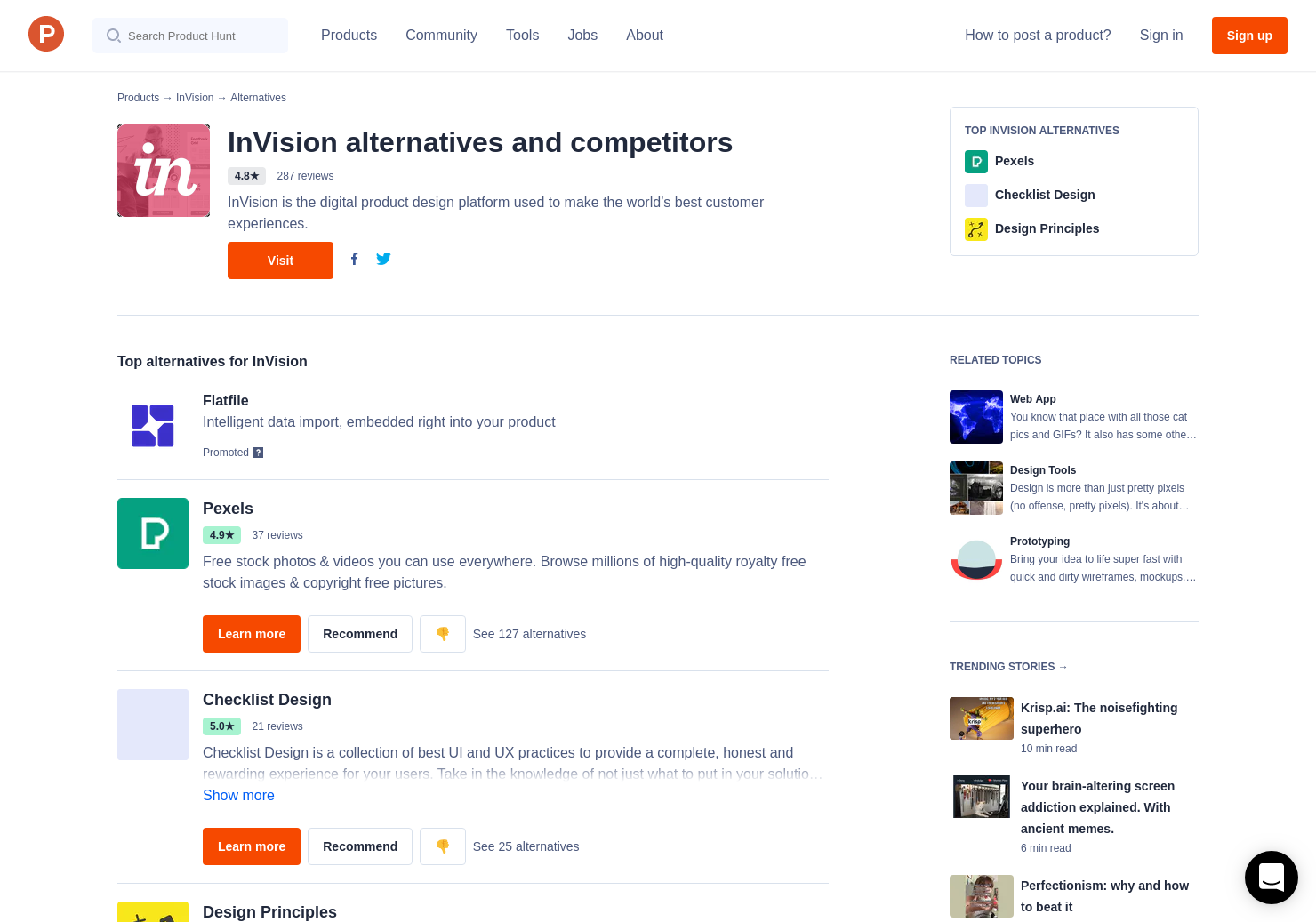 4 Alternatives to Freehand 2 0, from InVision   Product Hunt