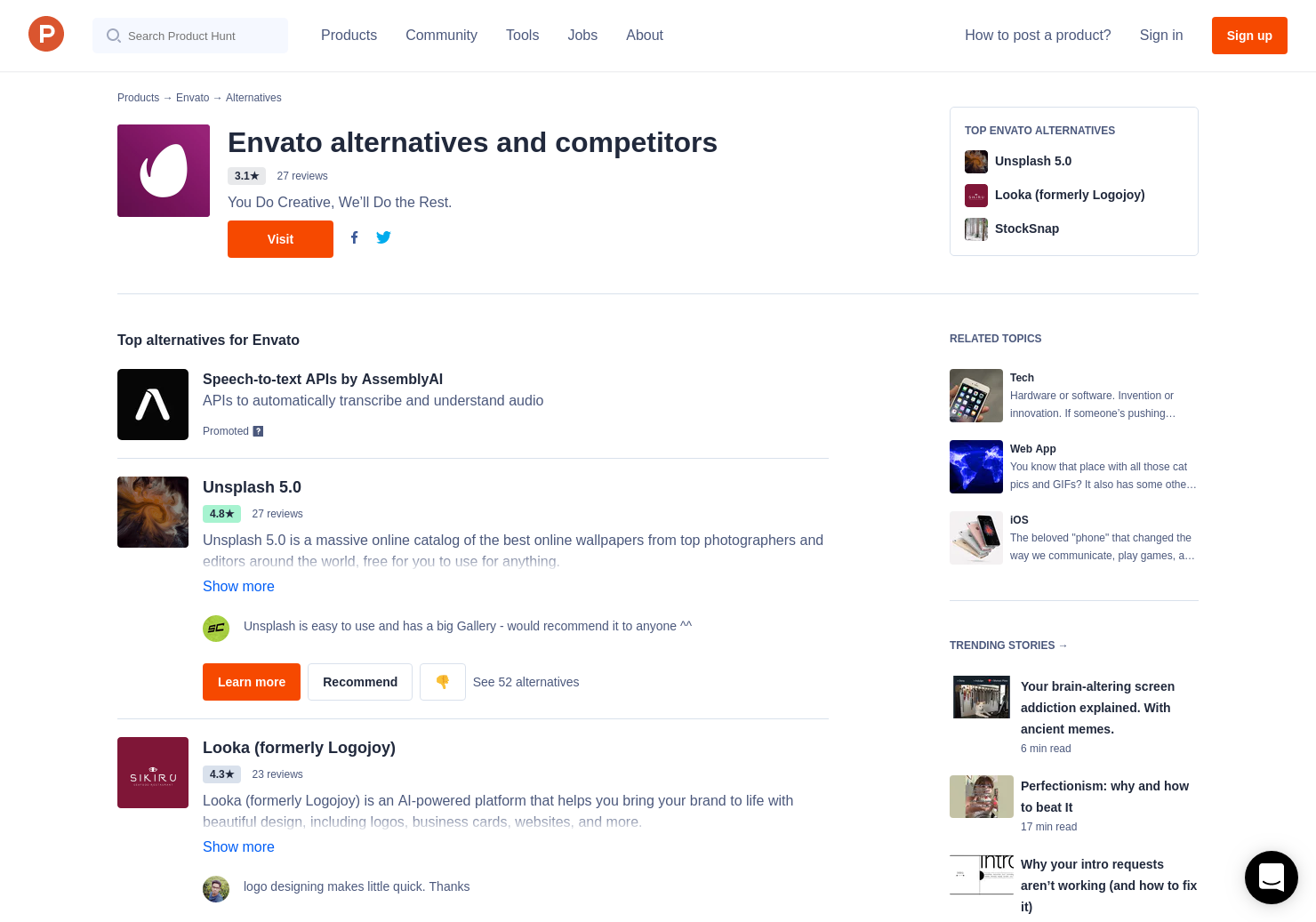 6 Alternatives to Elements for Sketch | Product Hunt