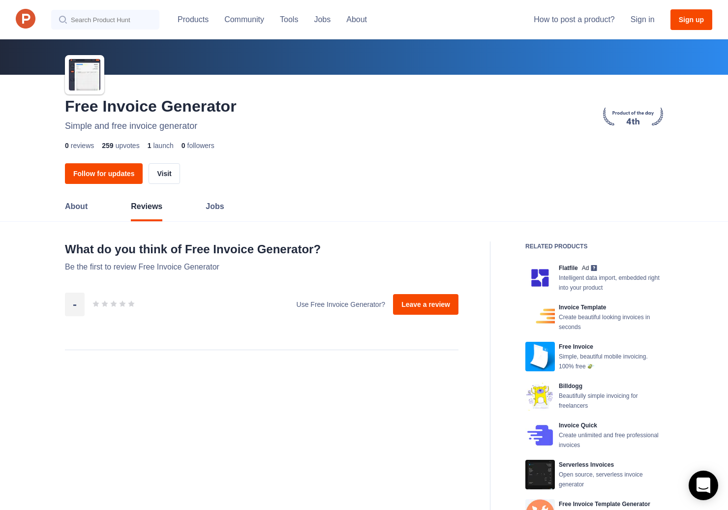 Free Invoice Generator Reviews - Pros, Cons and Rating