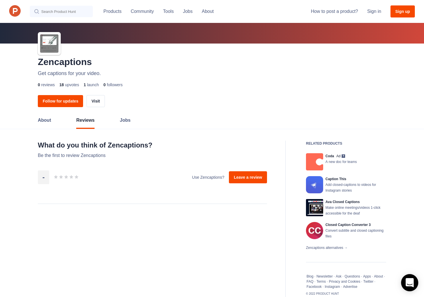 Zencaptions Reviews - Pros, Cons and Rating   Product Hunt