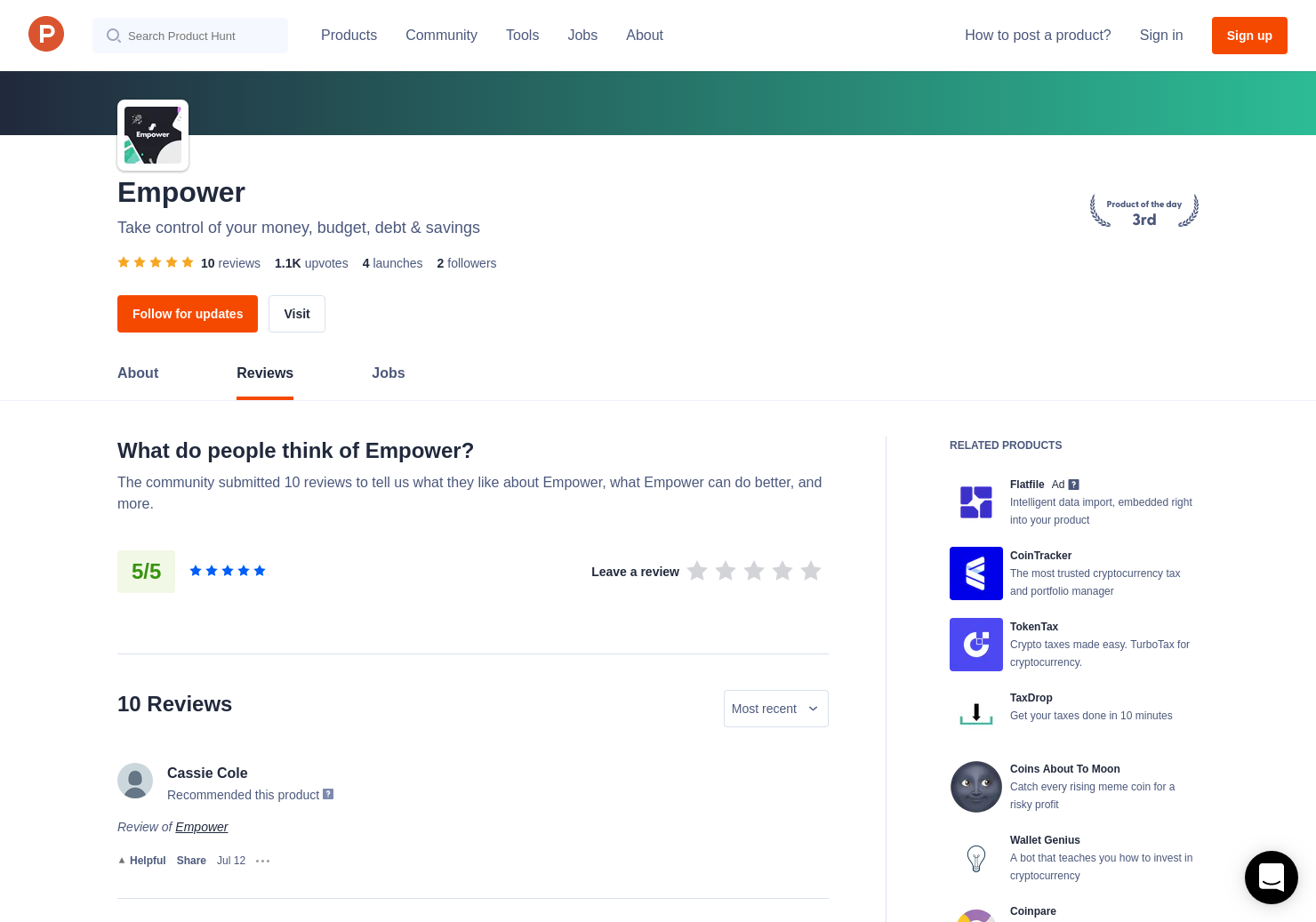 3 Empower for Crypto Reviews - Pros, Cons and Rating | Product Hunt