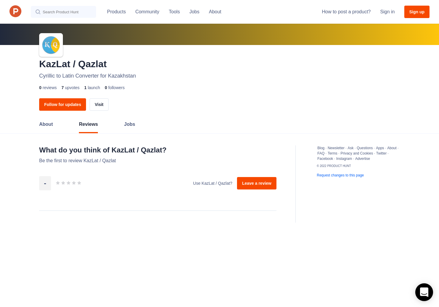 KazLat / Qazlat Reviews - Pros, Cons and Rating | Product Hunt