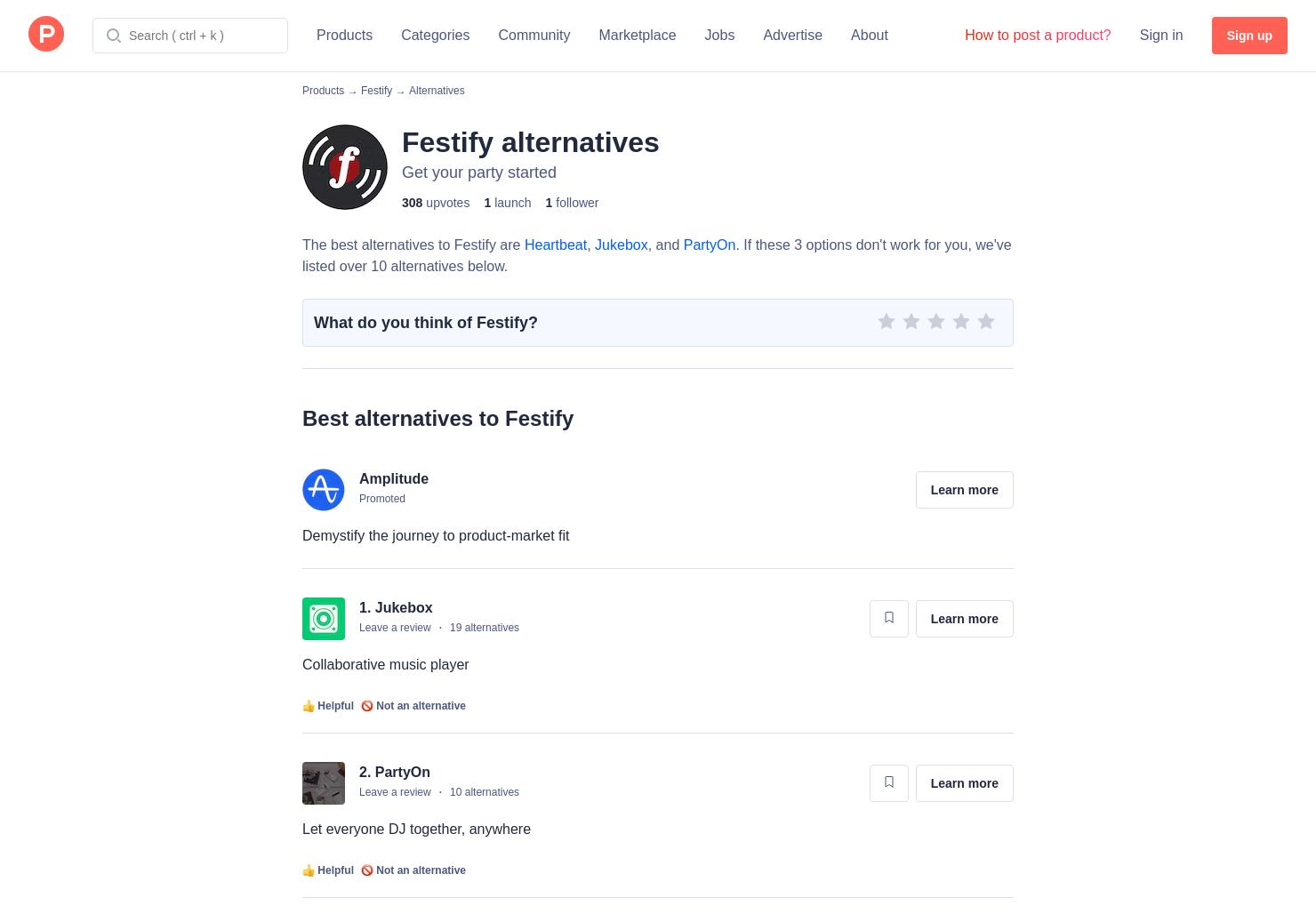 11 Alternatives to Festify | Product Hunt