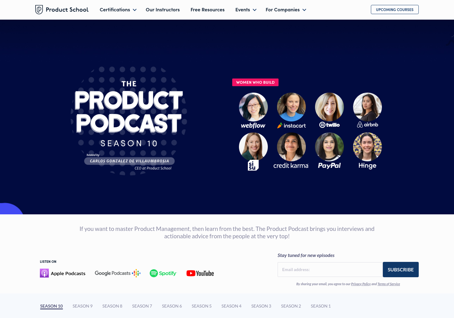 Women Product Leaders Podcast