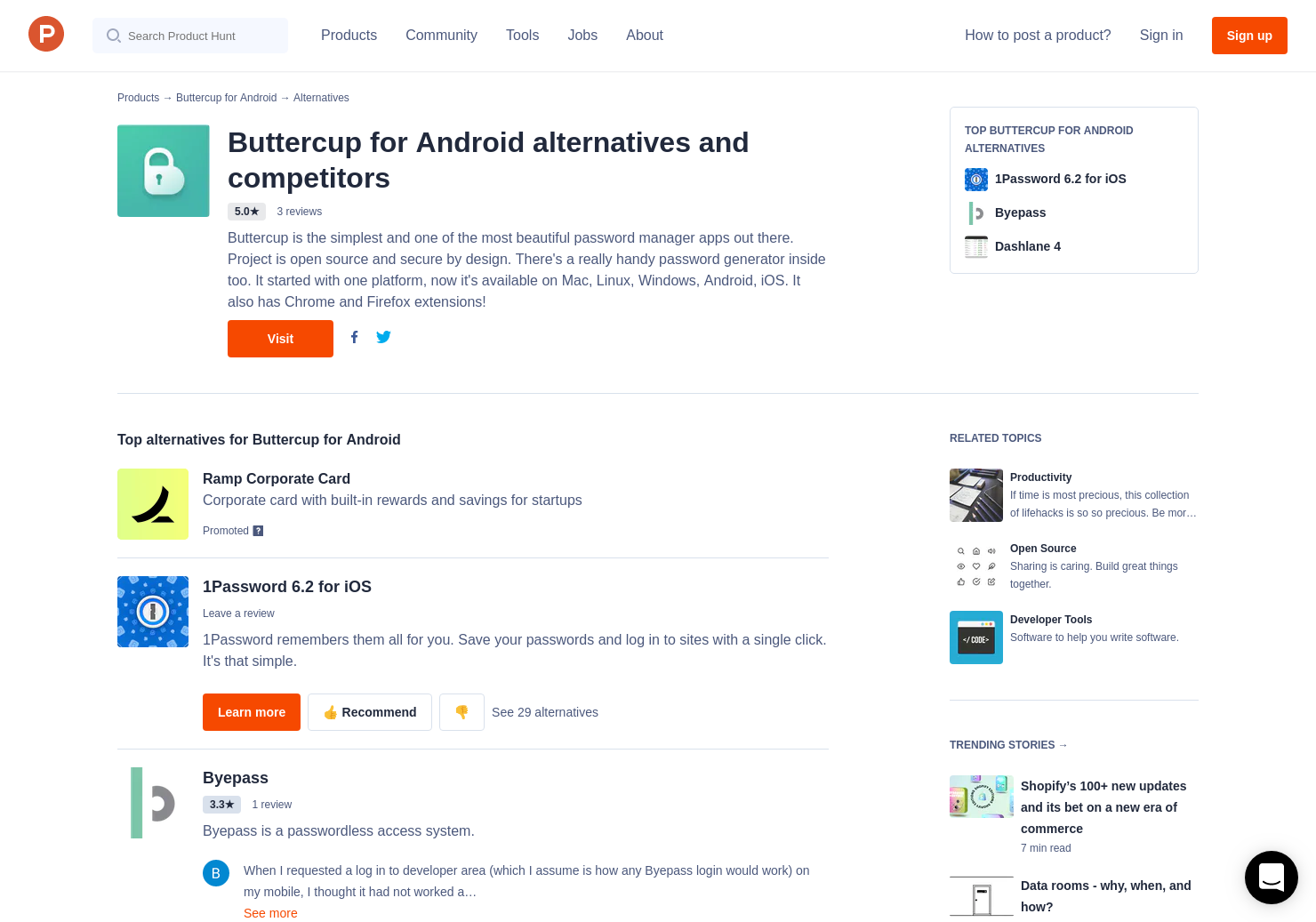 9 Alternatives to Buttercup for Android | Product Hunt