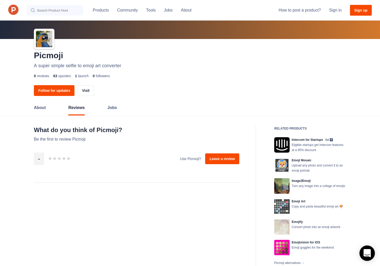 Picmoji Reviews - Pros, Cons and Rating | Product Hunt