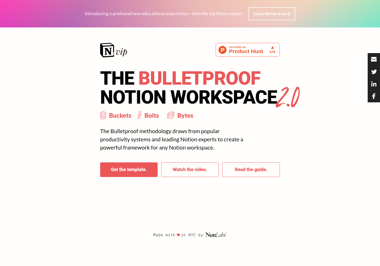 The Bulletproof Notion Workspace 2.0