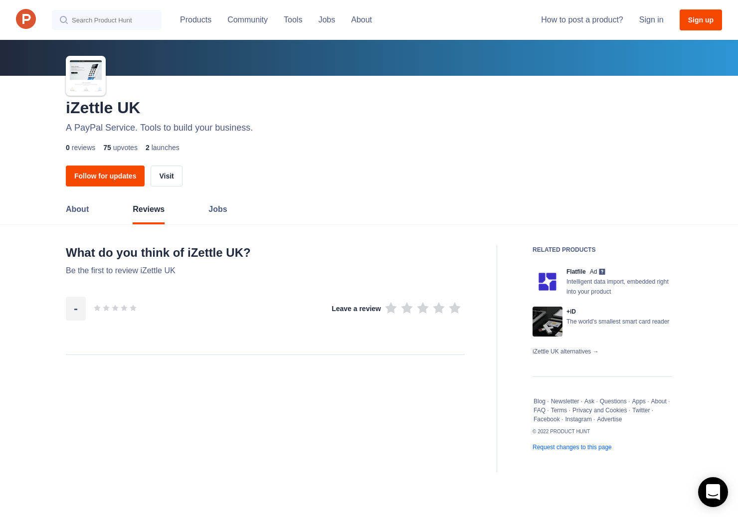 iZettle: Card Reader Lite Reviews - Pros, Cons and Rating | Product Hunt