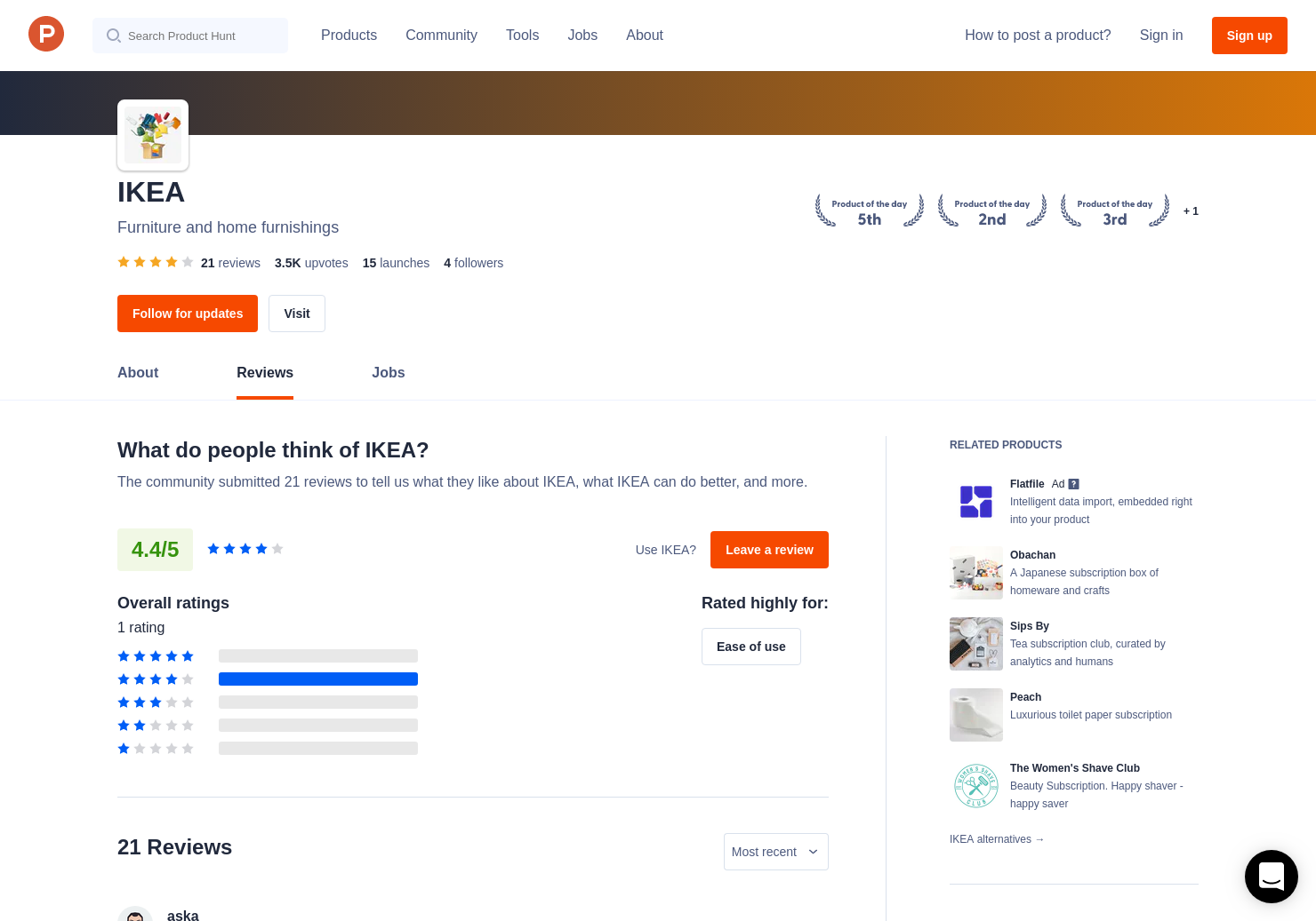 1 KRYDDA/VÄXER by IKEA Reviews - Pros, Cons and Rating | Product Hunt