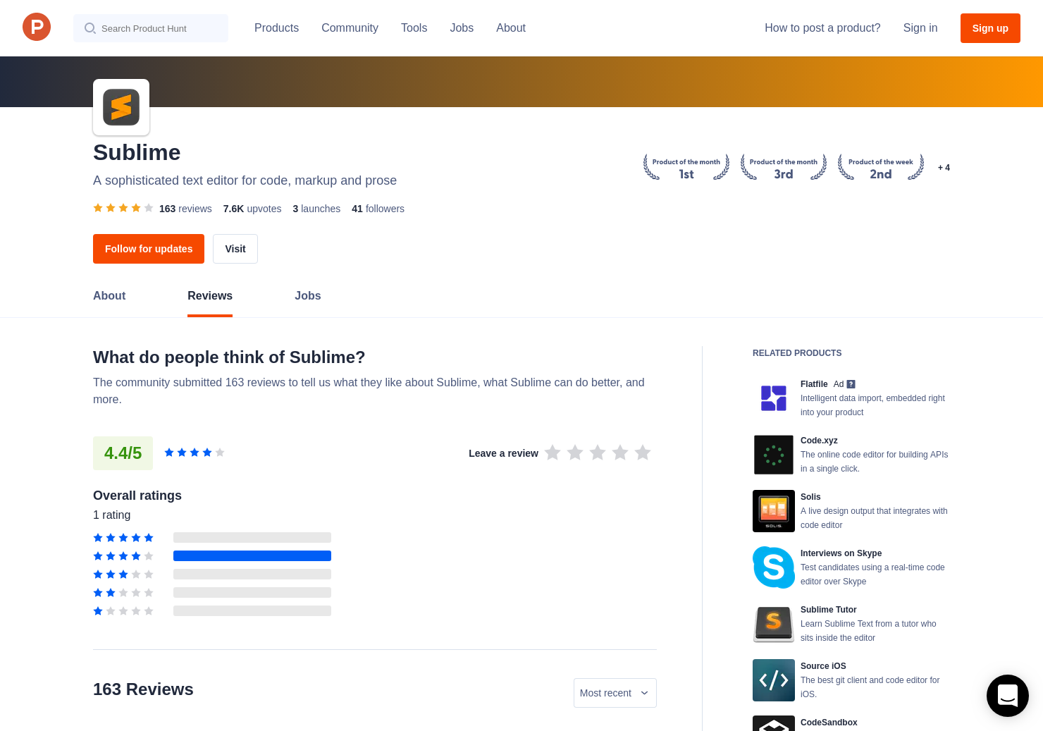 137 Sublime Text 3 0 Reviews - Pros, Cons and Rating