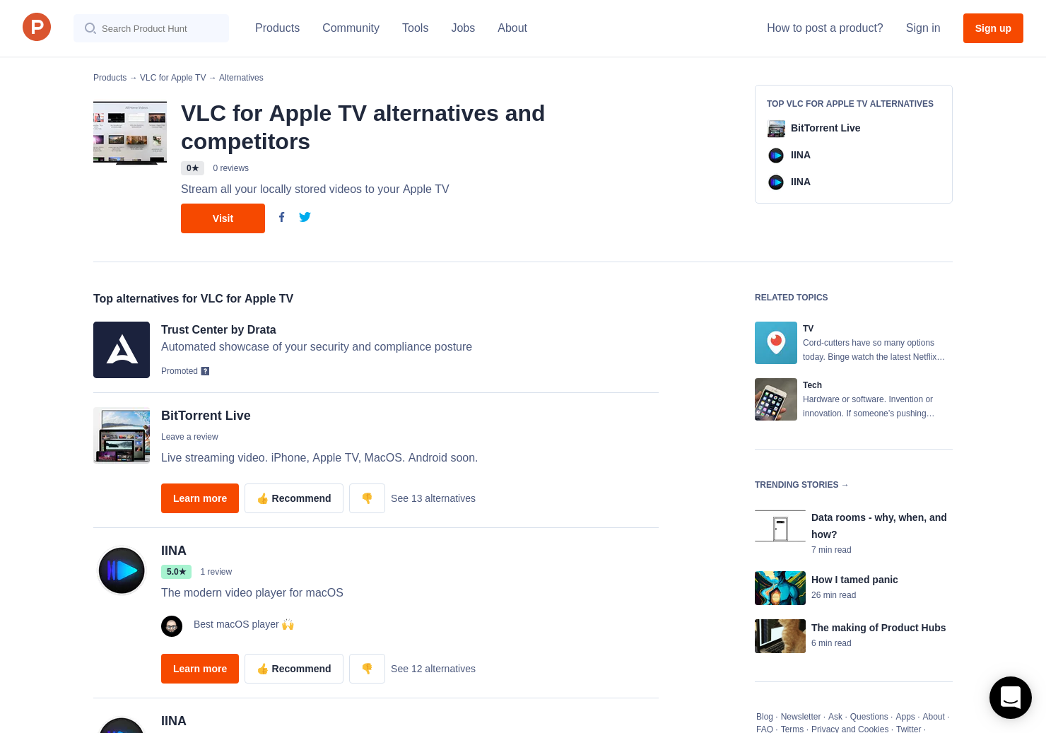 9 Alternatives To Vlc For Apple Tv For Apple Tv Product Hunt