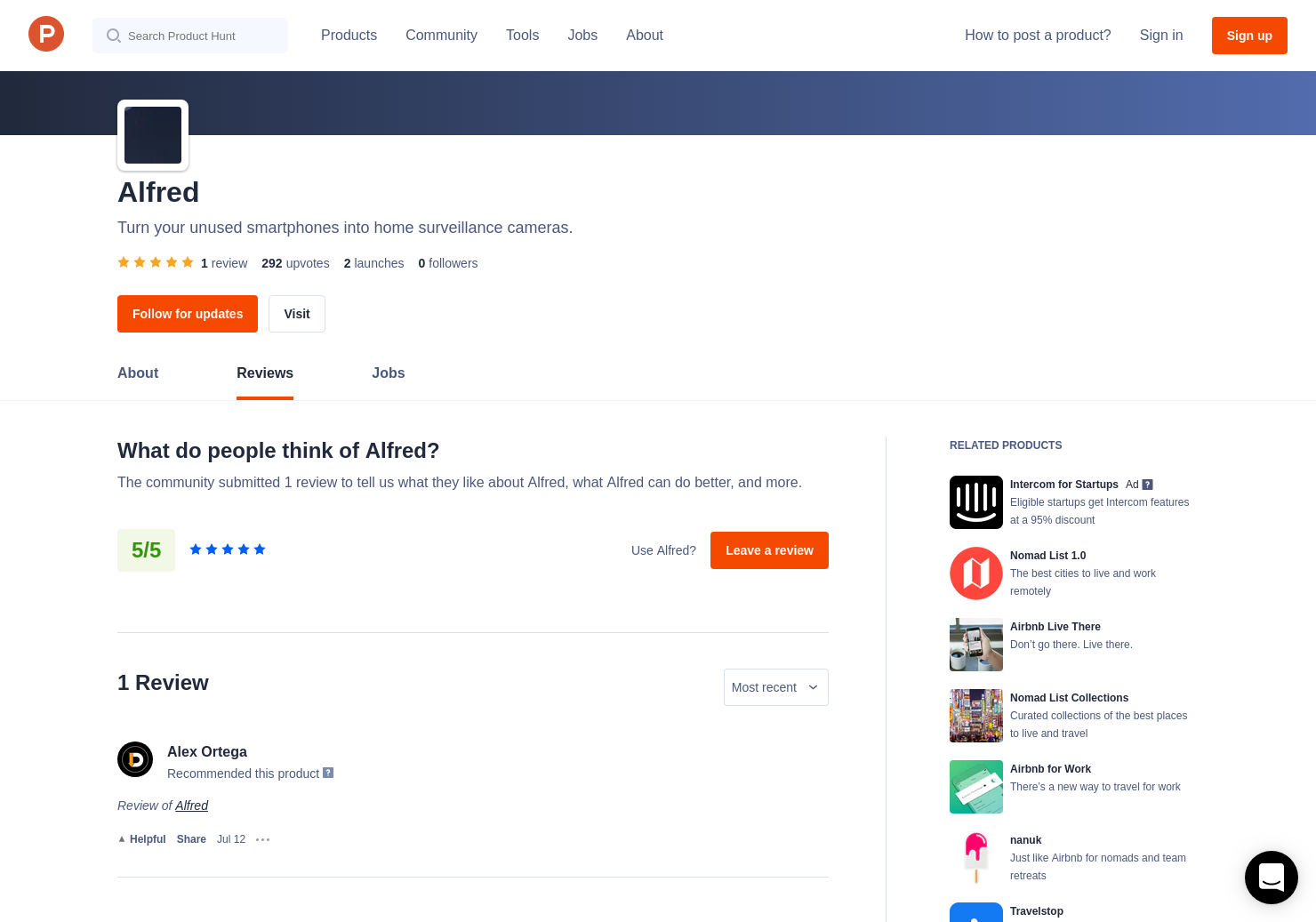 Alfred Reviews - Pros, Cons and Rating | Product Hunt