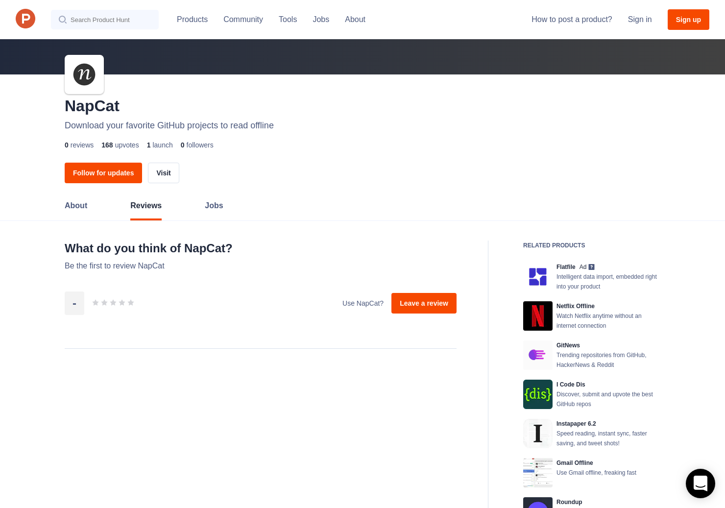 NapCat Reviews - Pros, Cons and Rating | Product Hunt