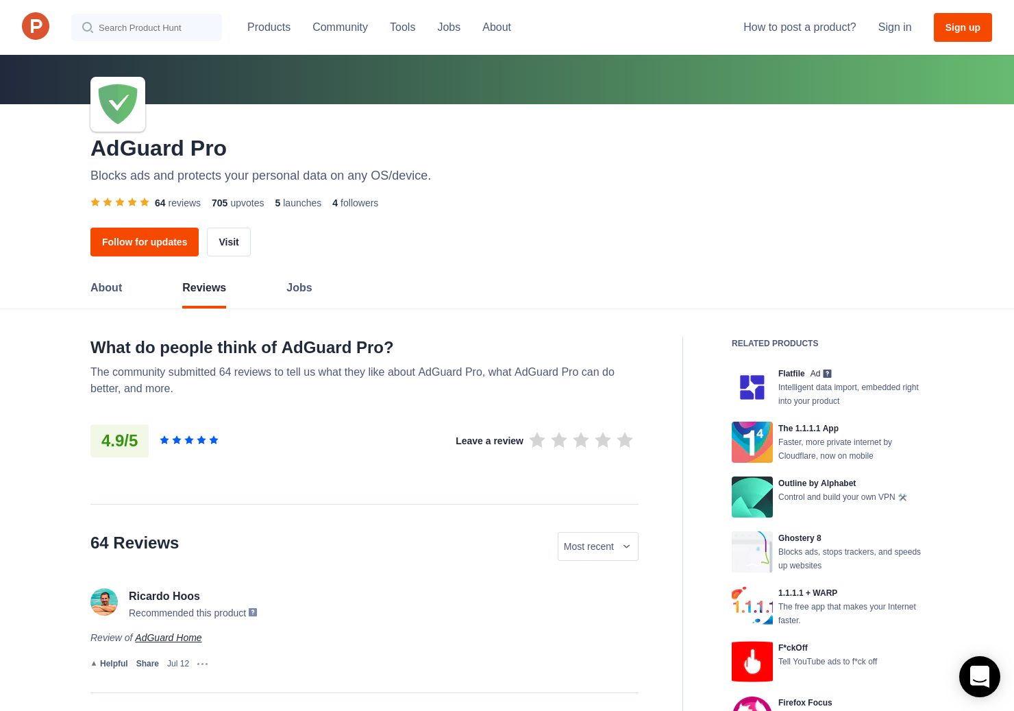 17 AdGuard for iOS Pro 2 0 Reviews - Pros, Cons and Rating