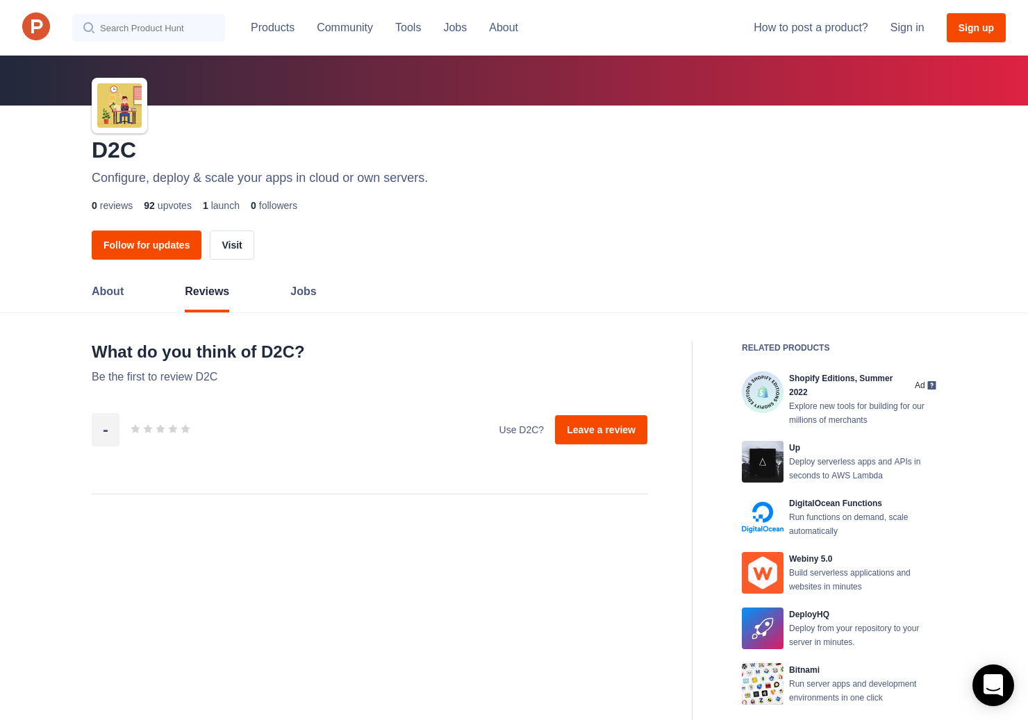 D2C Reviews - Pros, Cons and Rating | Product Hunt