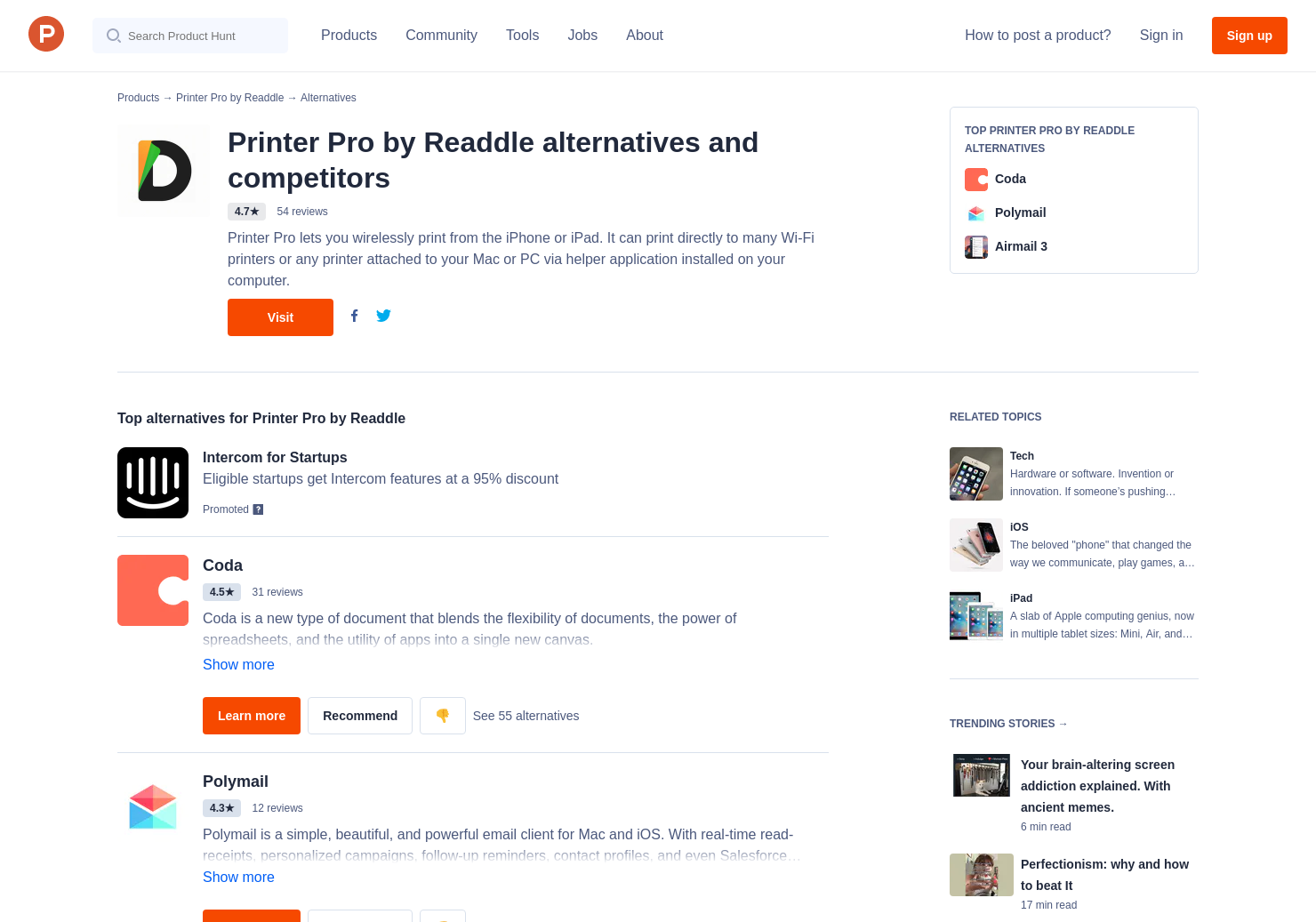 7 Alternatives to PDF Office by Readdle   Product Hunt