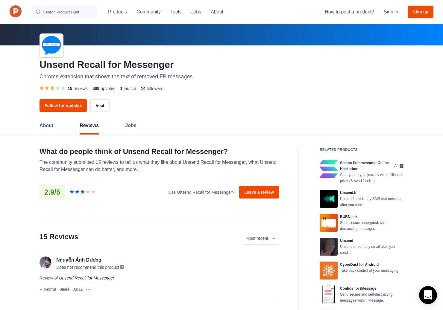 4 Unsend Recall for Messenger Reviews - Pros, Cons and