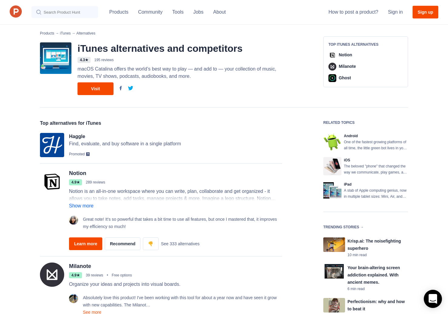 35 Alternatives to Paper 3 0 for iPhone, iPad | Product Hunt