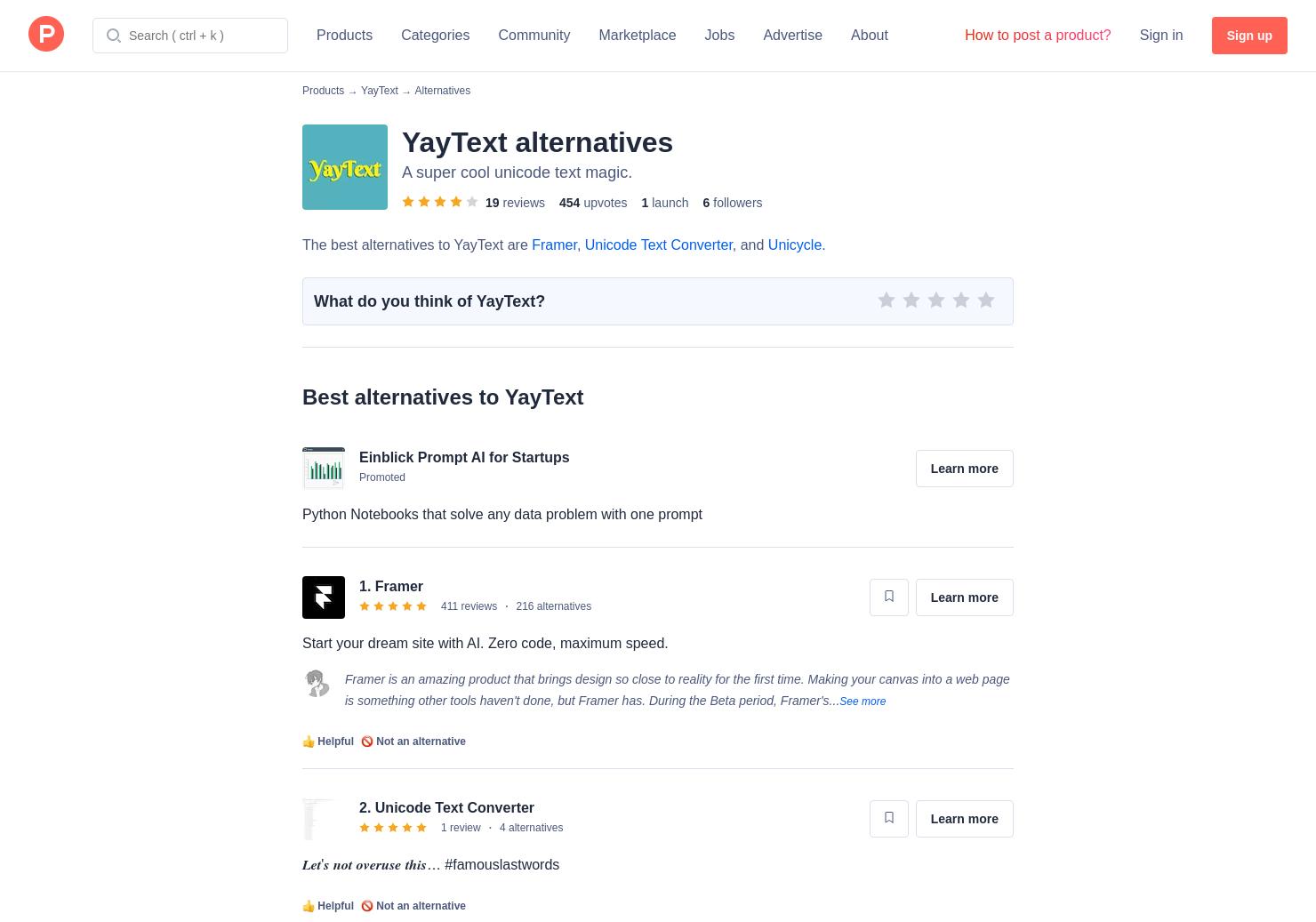4 Alternatives to YayText! | Product Hunt
