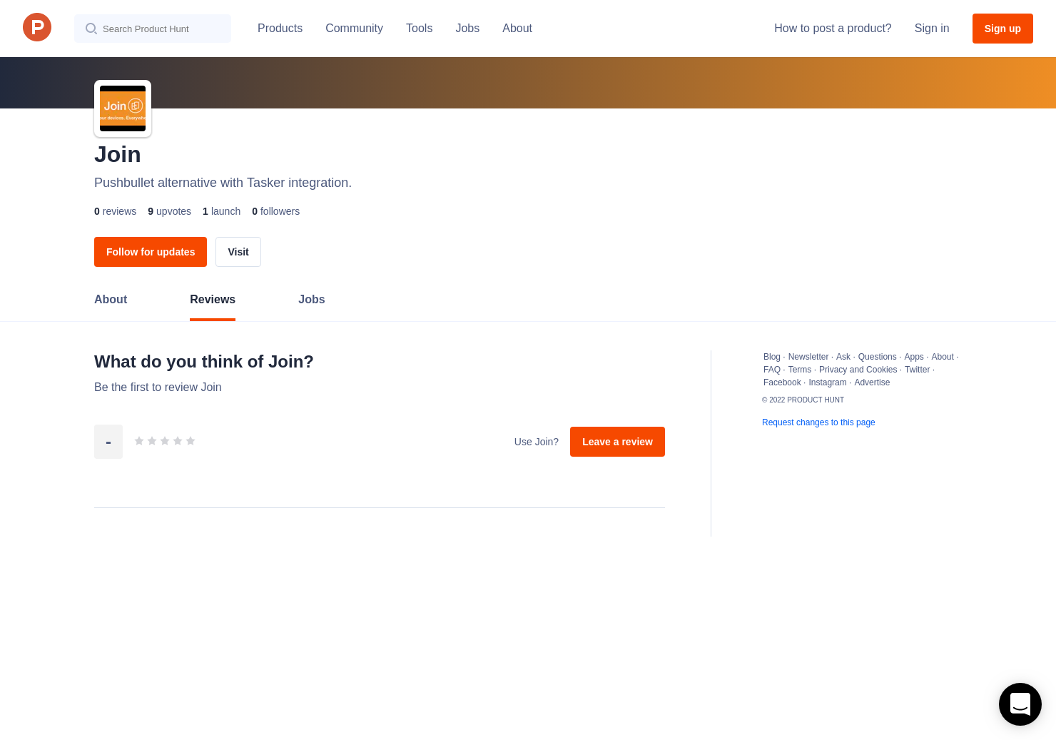 Join Reviews - Pros, Cons and Rating | Product Hunt