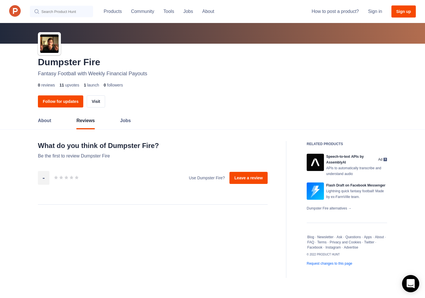 Dumpster Fire Reviews - Pros, Cons and Rating | Product Hunt