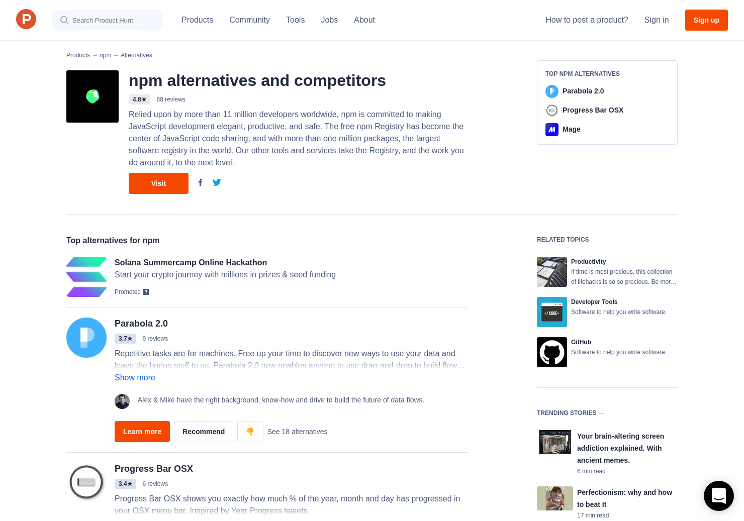 9 Alternatives to autoComplete js   Product Hunt