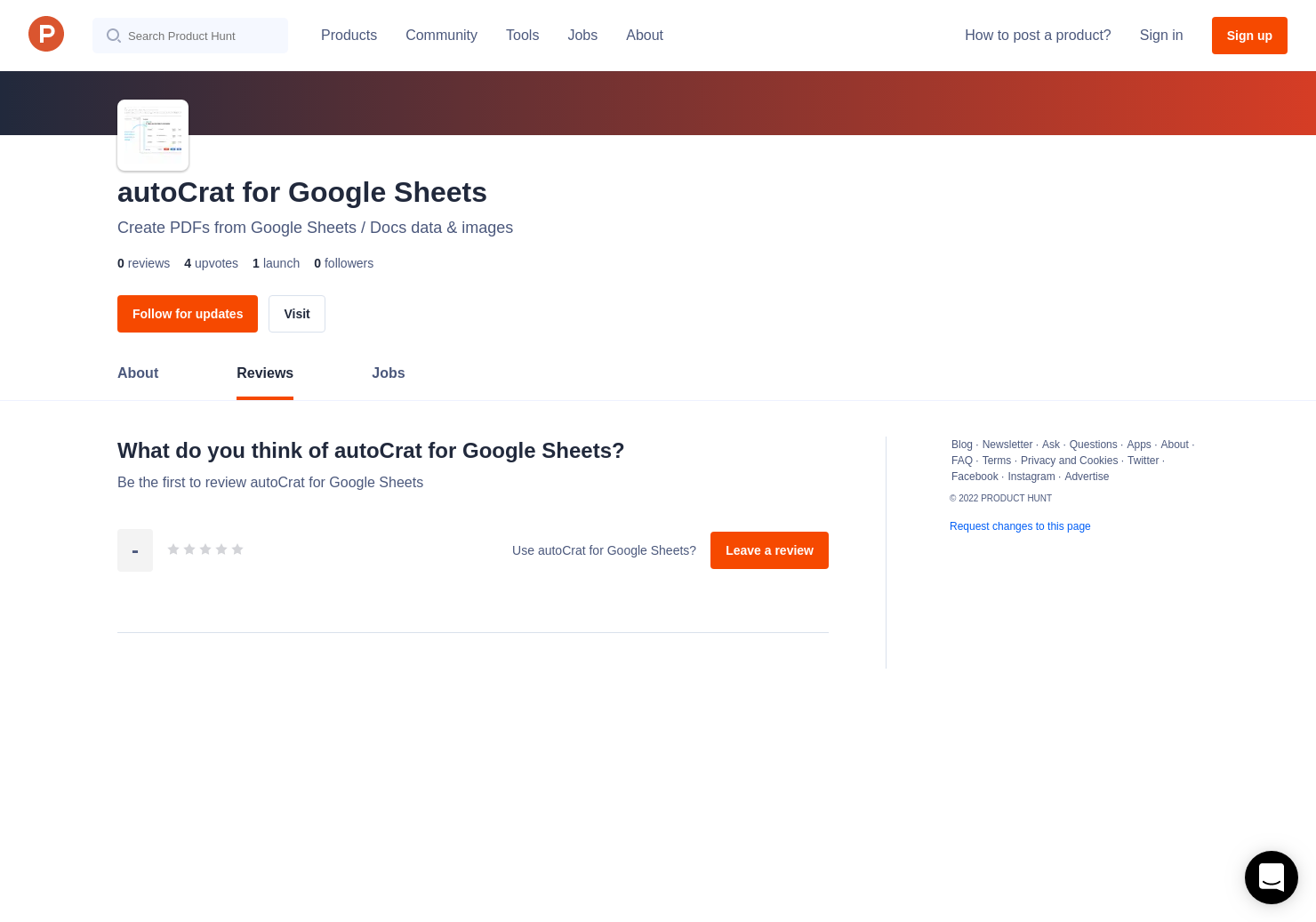 Autocrat For Google Sheets Reviews Pros Cons And Rating Product