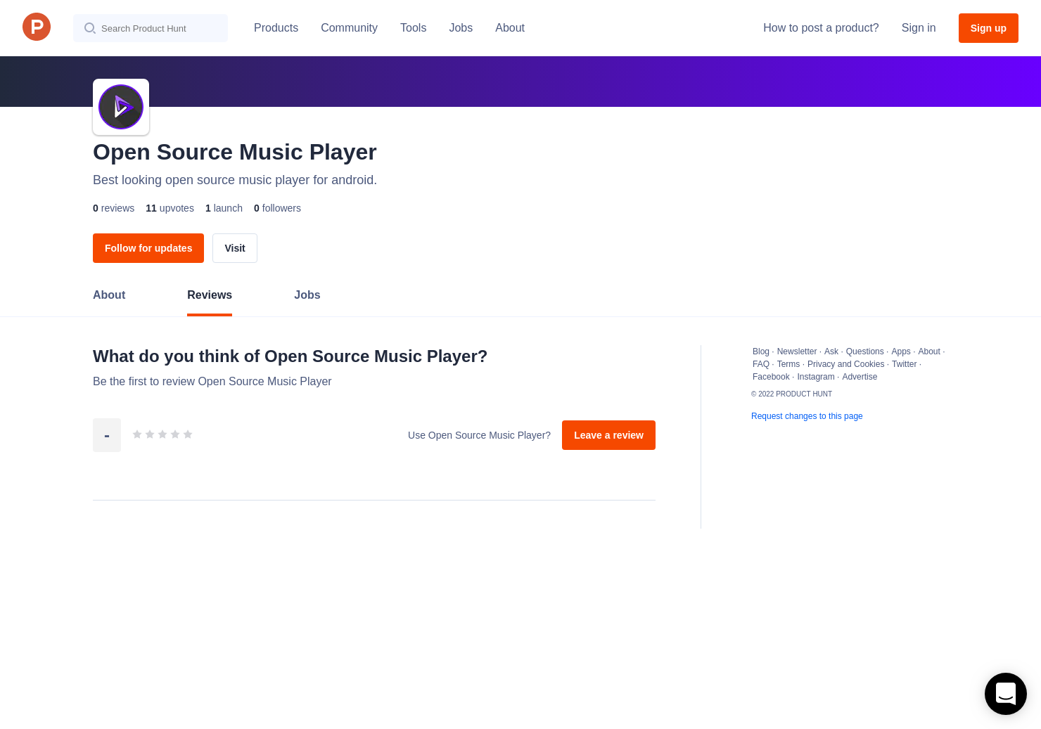 Open Source Music Player Reviews - Pros, Cons and Rating