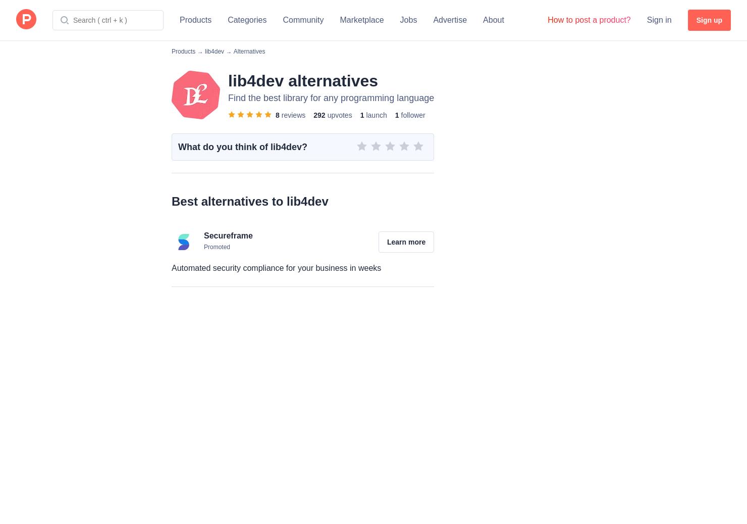 8 Alternatives to lib4dev | Product Hunt