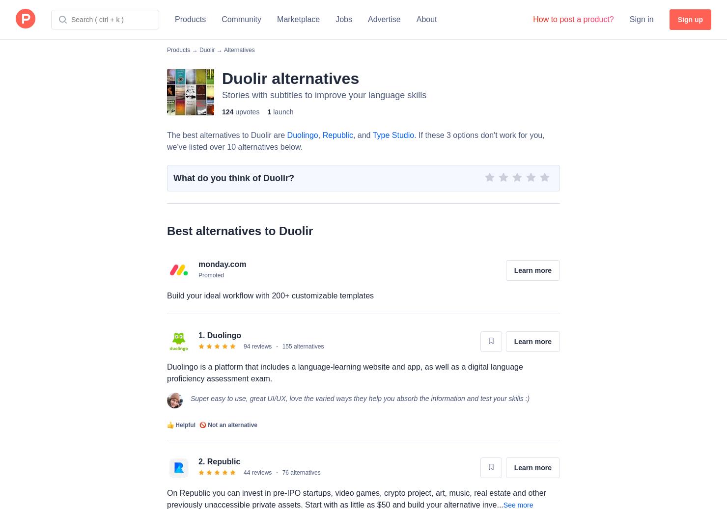 25 Alternatives to Duolir   Product Hunt