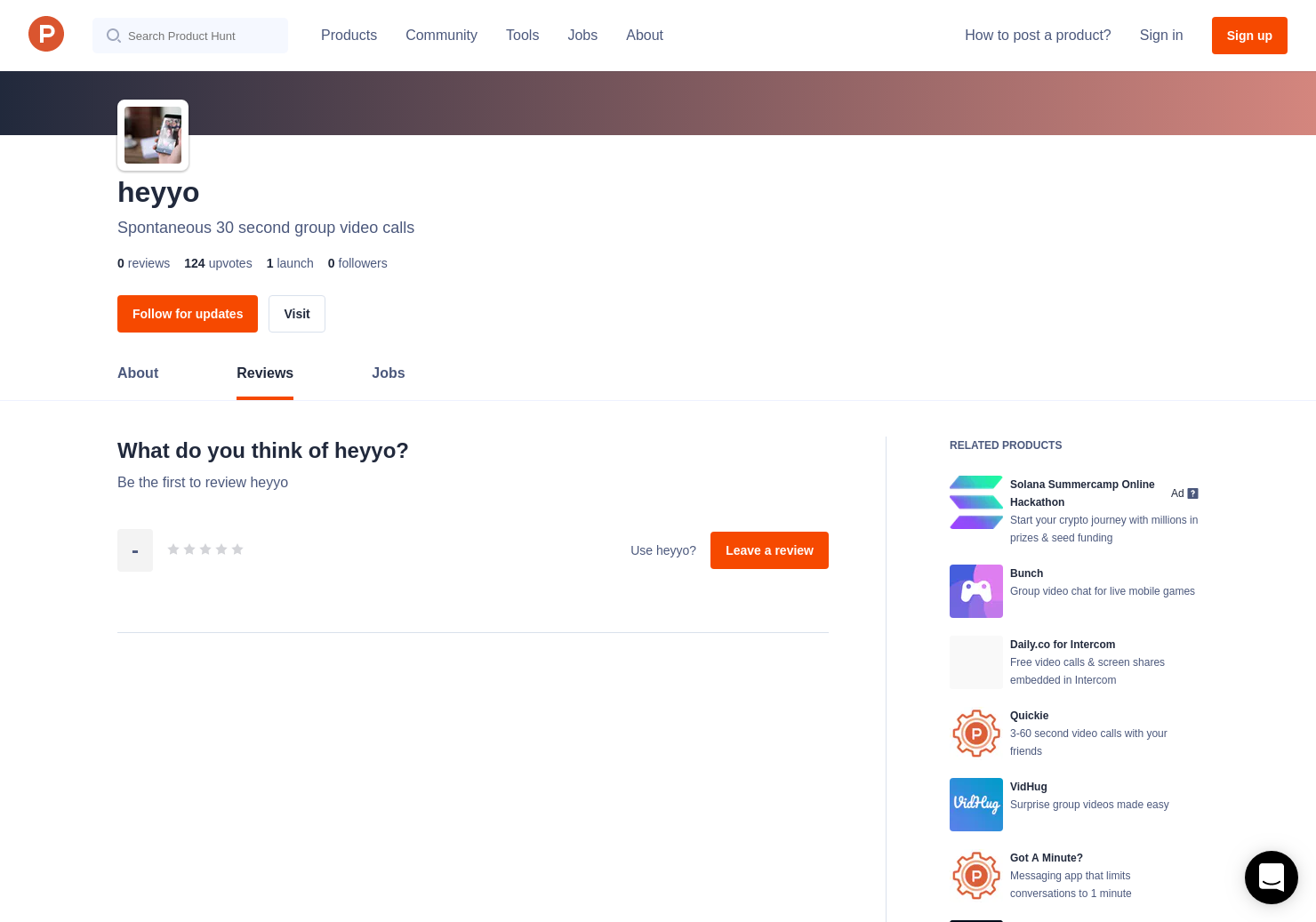 heyyo Reviews - Pros, Cons and Rating | Product Hunt