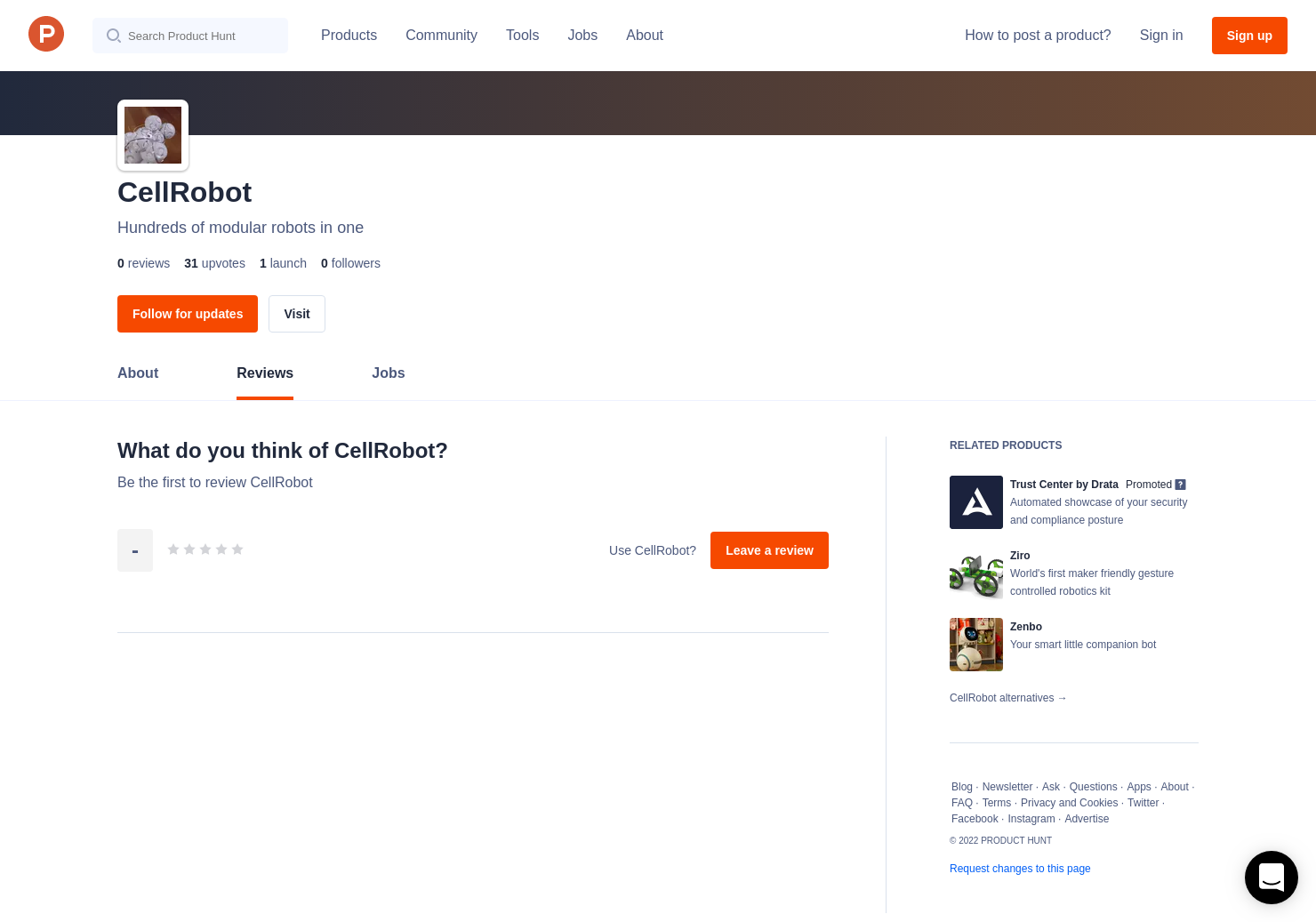 CellRobot Reviews - Pros, Cons and Rating   Product Hunt