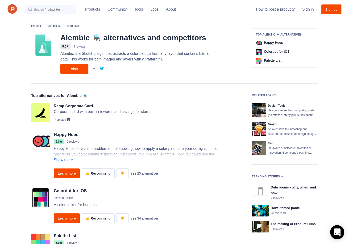 3 alternatives to alembic product hunt