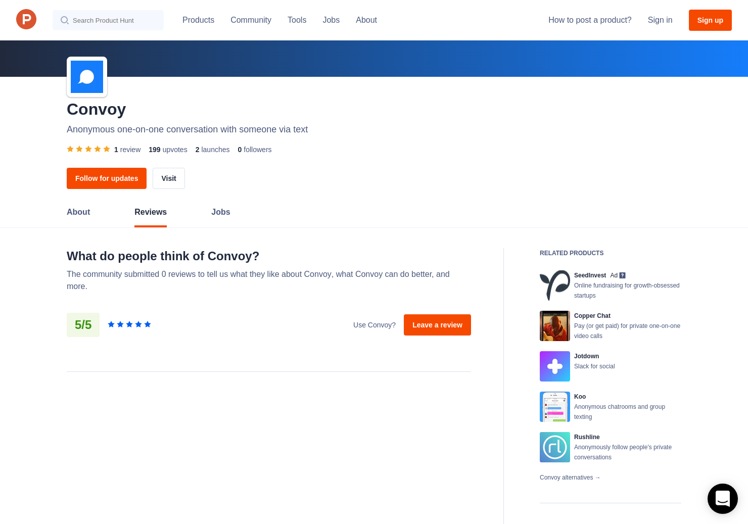 1 Convoy 2 Reviews - Pros, Cons and Rating   Product Hunt