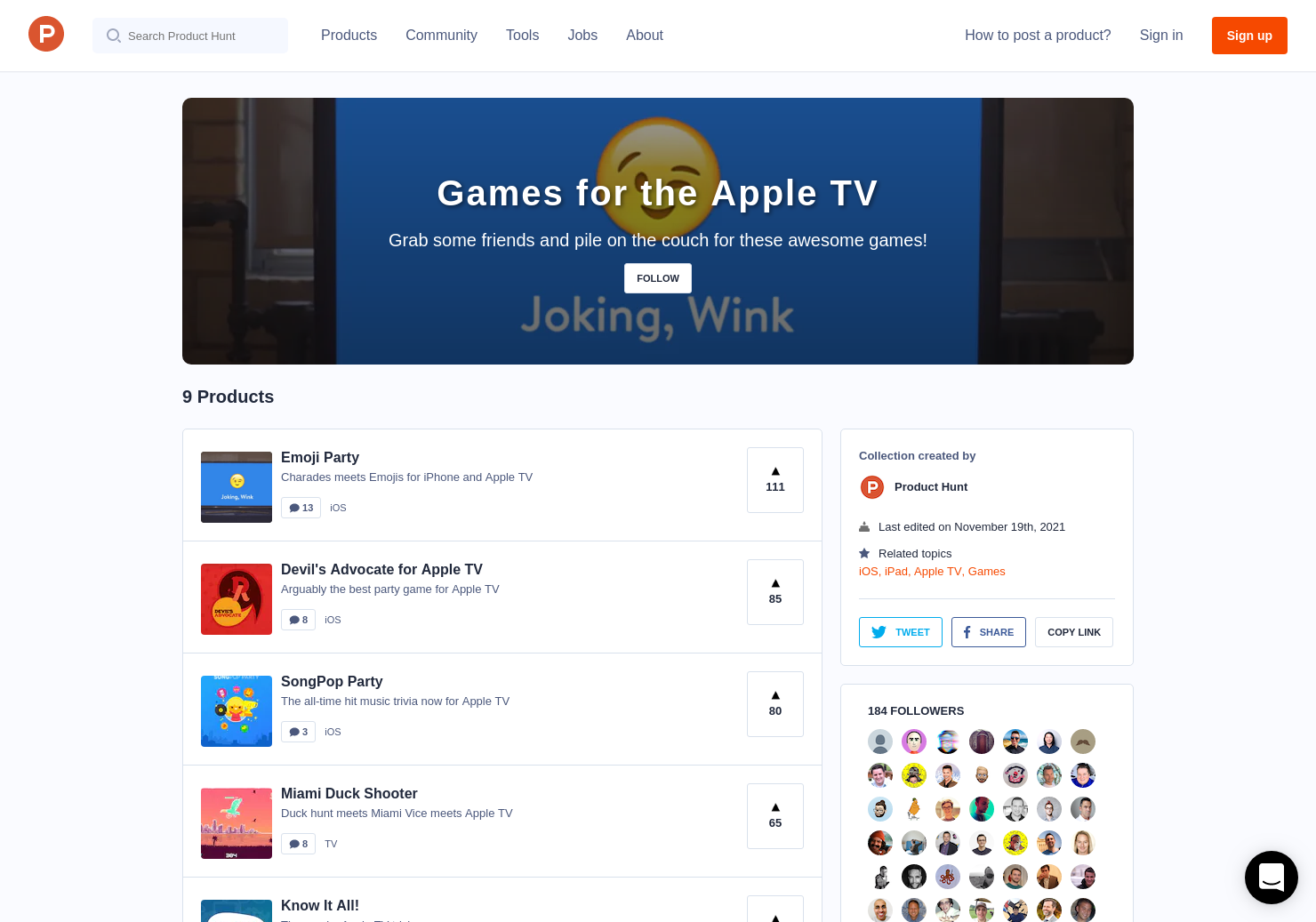 Games for the Apple TV | Product Hunt