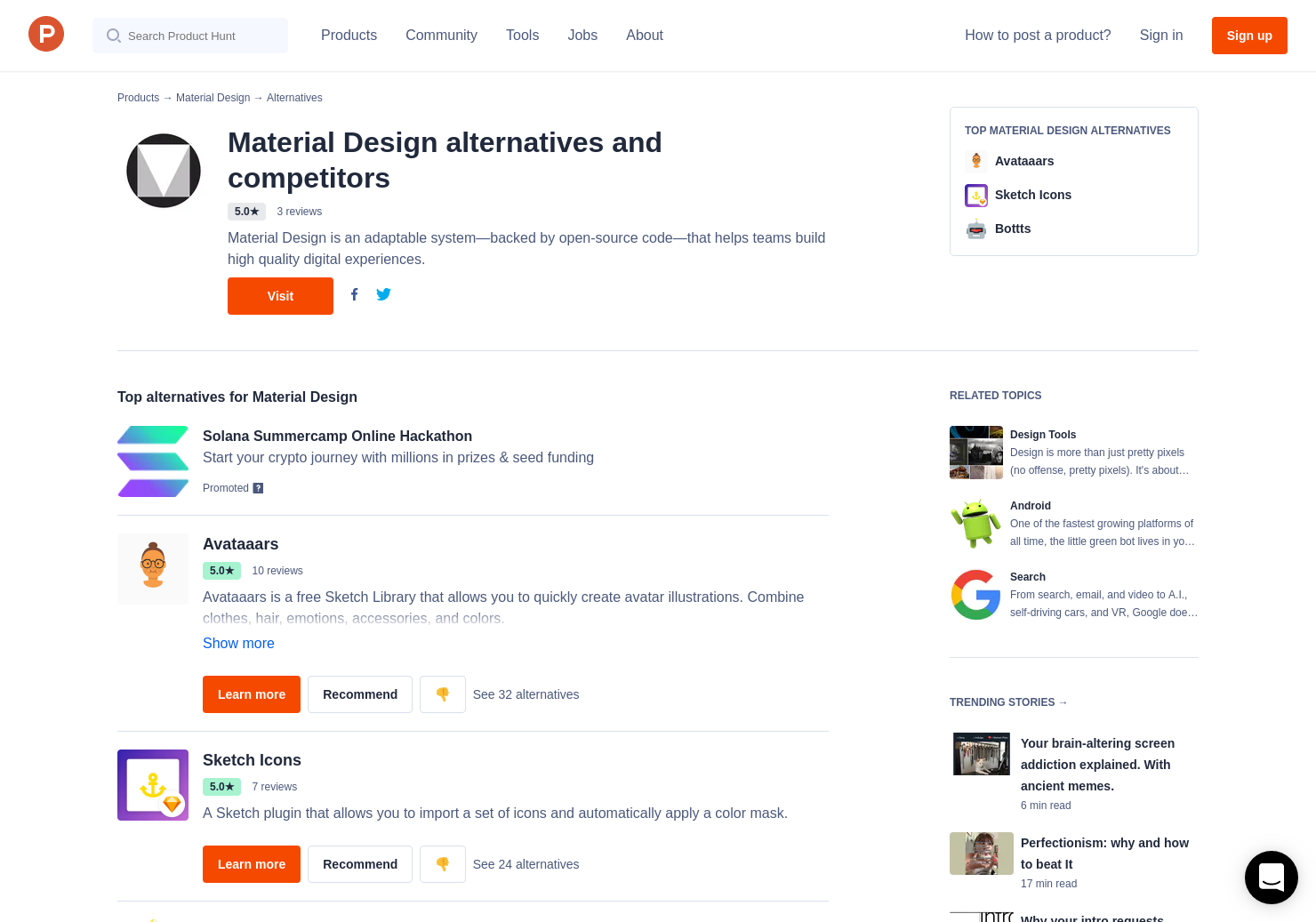 9 Alternatives to Material Theme Editor | Product Hunt