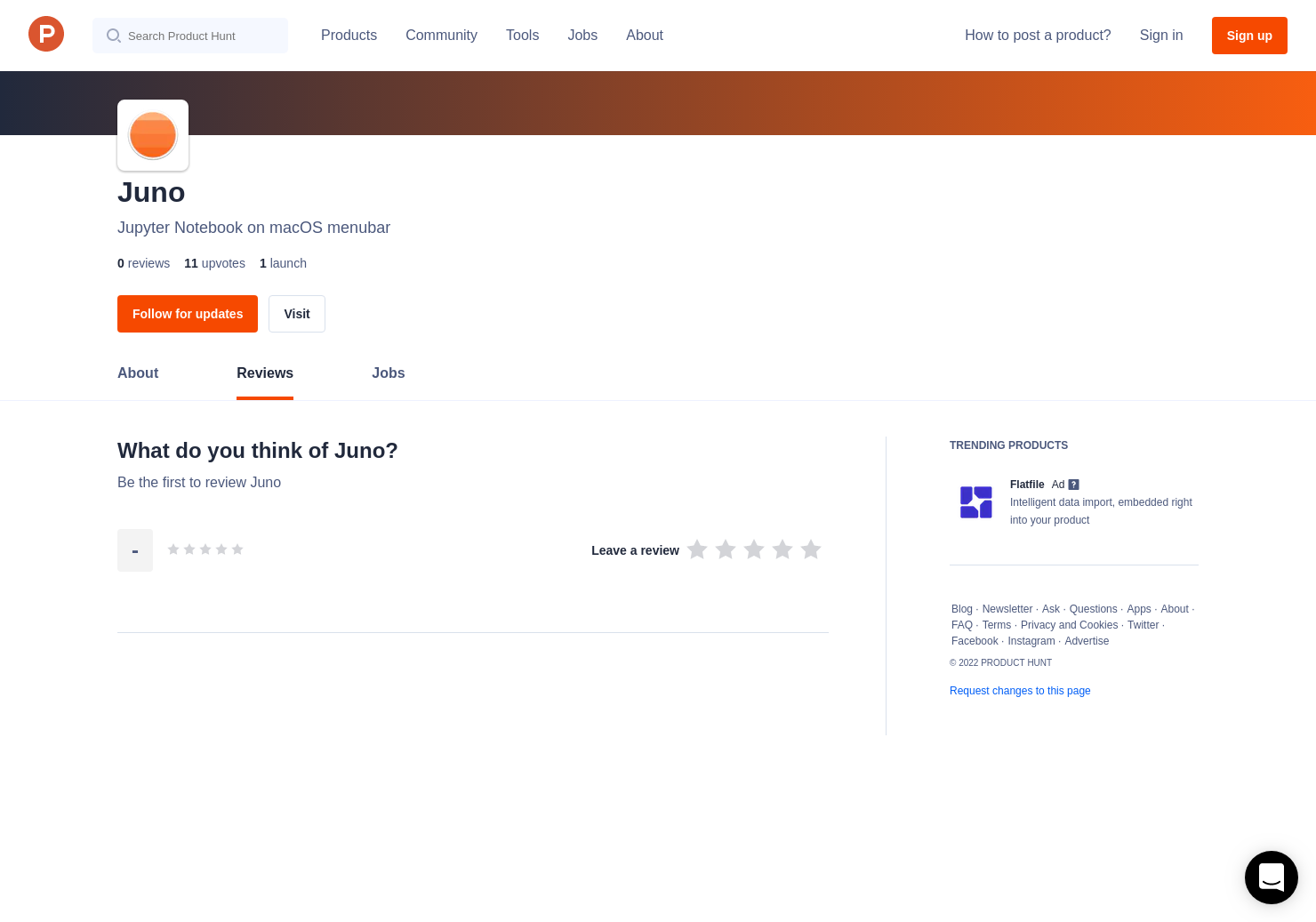 Juno Reviews - Pros, Cons and Rating | Product Hunt