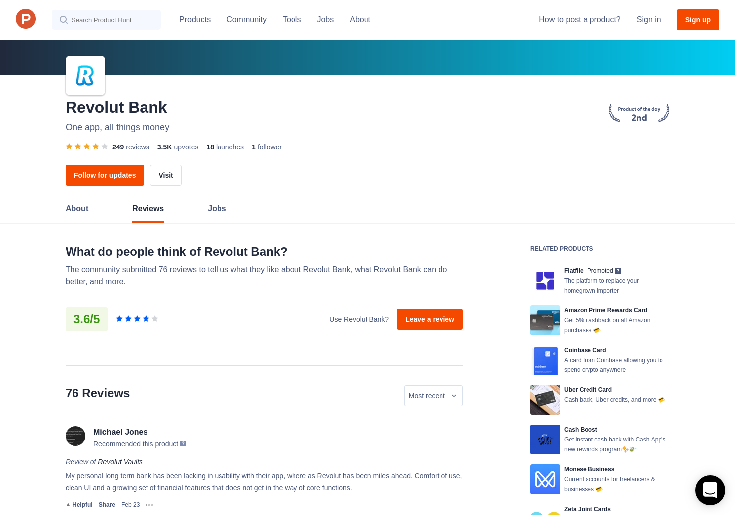 21 Revolut Metal Reviews - Pros, Cons and Rating | Product Hunt