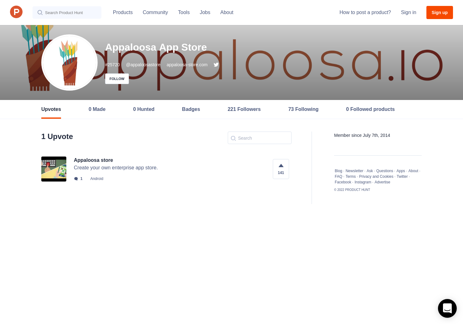 Appaloosa app stores profile on product hunt ccuart Images