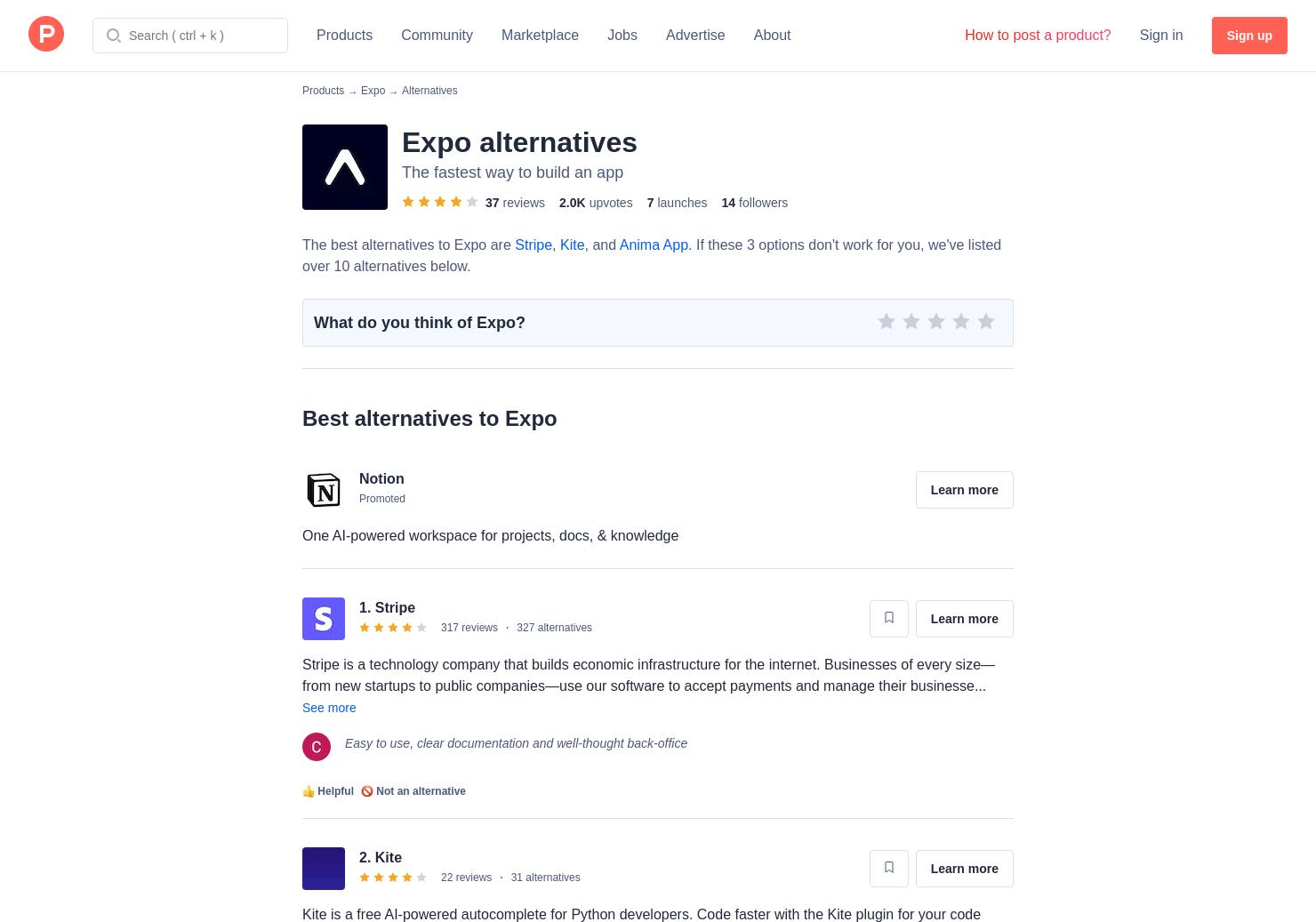 17 Alternatives to Expo 2 0 | Product Hunt