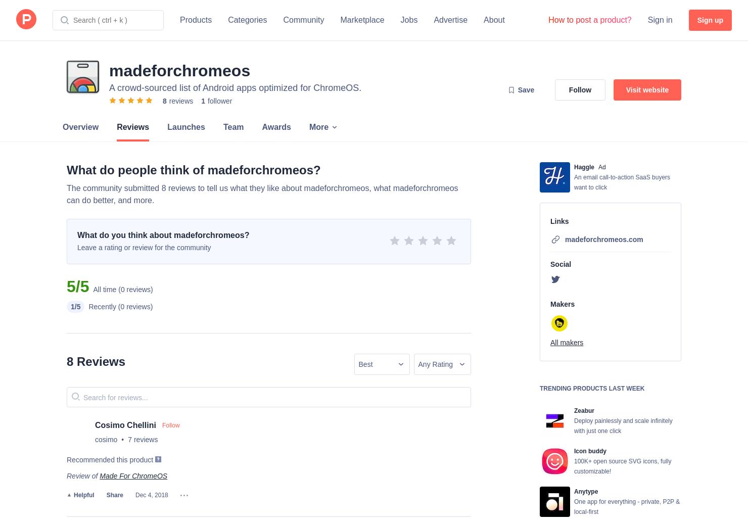 8 Made For ChromeOS Reviews - Pros, Cons and Rating