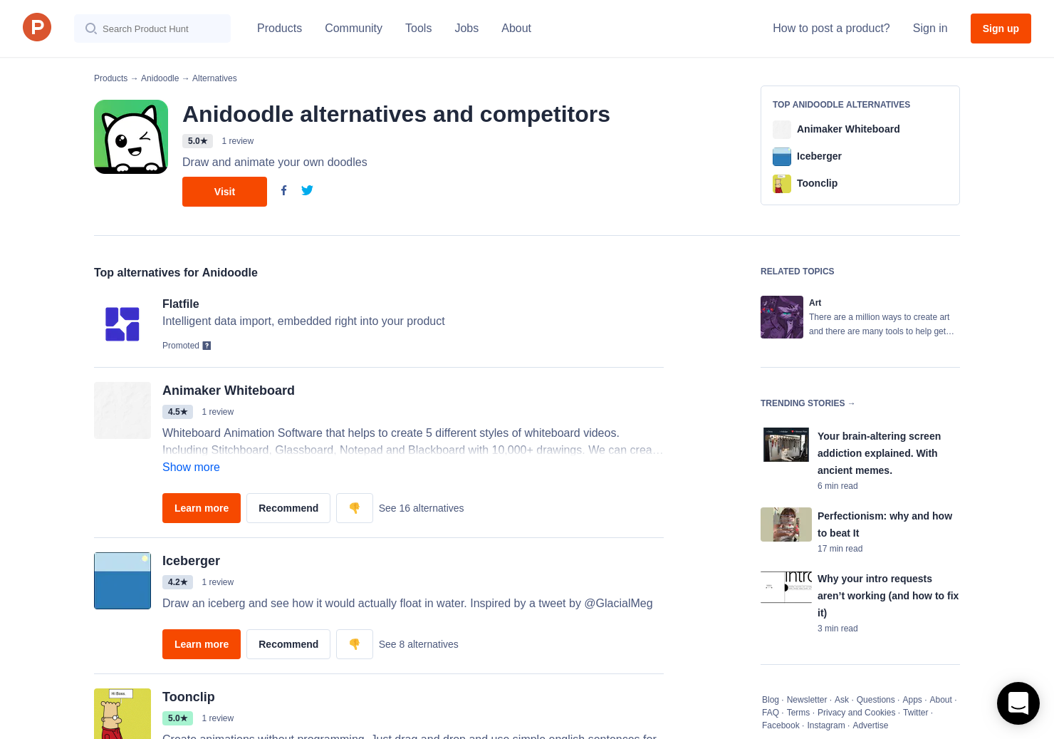 6 Alternatives to Anidoodle | Product Hunt
