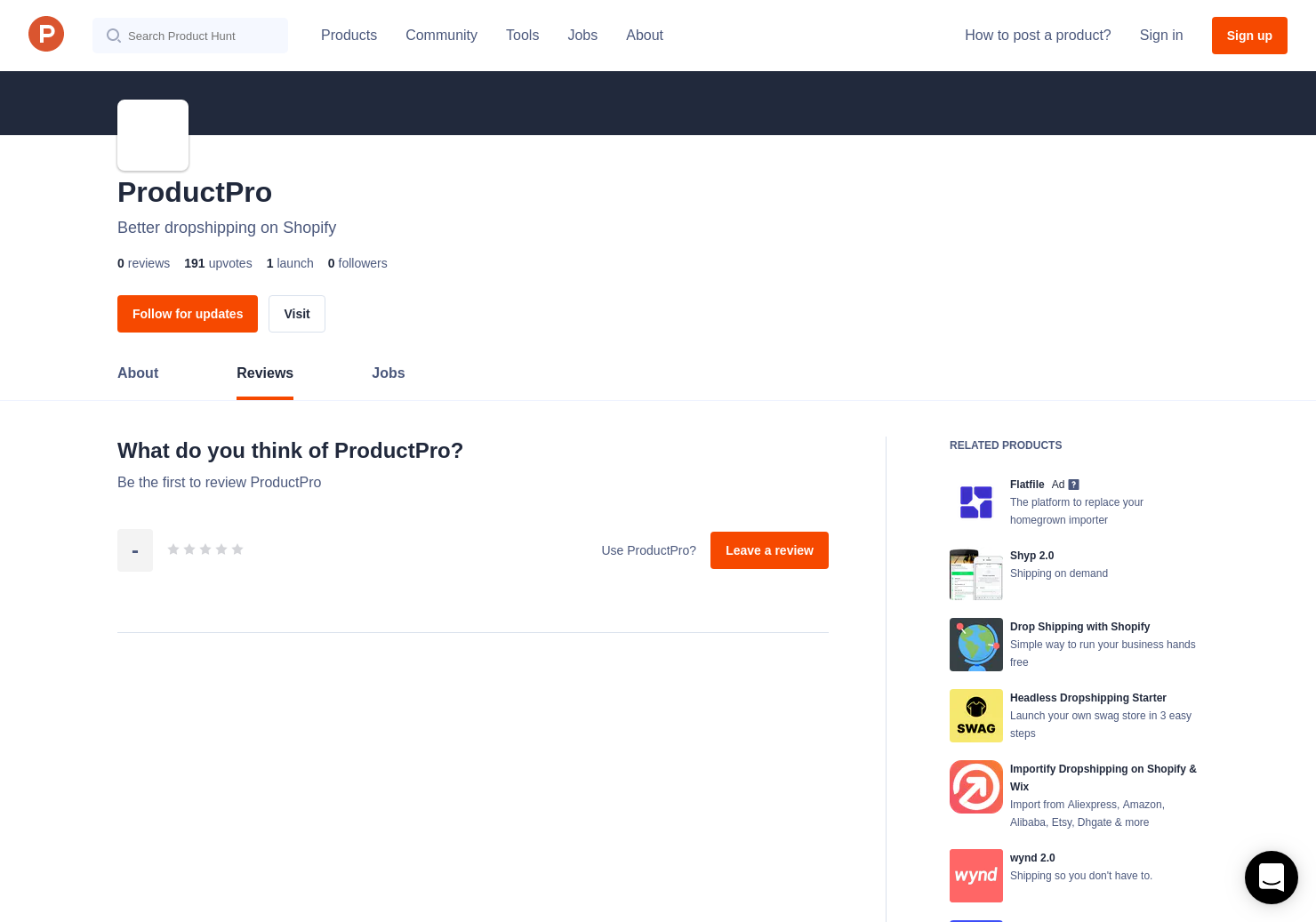 ProductPro Reviews - Pros, Cons and Rating | Product Hunt